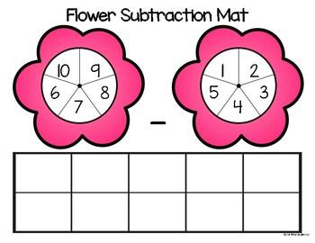 Flower Subtraction Mats