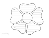 Flower Summary Graphic Organizer