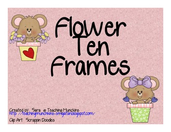 Flower Ten Frames