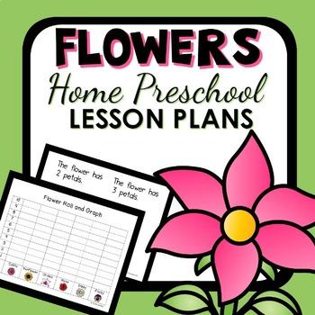 Flower Theme Home Preschool Lesson Plans