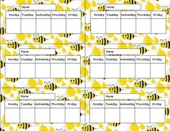Summer Themed Weekly Charts