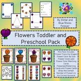 Flowers Toddler and Preschool Pack #TpTDistanceLearning