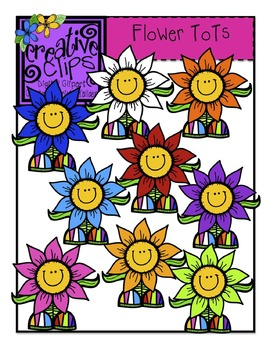 Flower Tots {Creative Clips Digital Clipart}