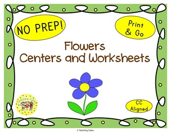 Flowers Worksheets Activities Games Printables and More