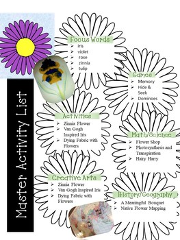 Flower Unit Study