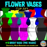 Flower Vases Clip Art for Personal and Commercial Use