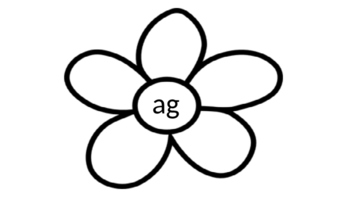 Flower Word Families