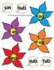 Flower Word Family Sort