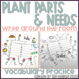 Plant Parts and Needs Vocabulary Write the Room