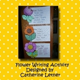 Spring Flower Writing Craft
