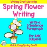 Writing Activity For End of Year and Spring