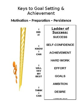 Keys to Goal Setting and Achievement Handout