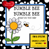 Flower and Bee Book with Poster