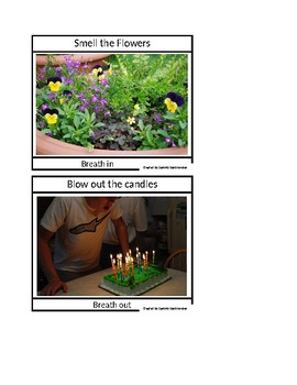 Speical education:  Flower candle breathing tool and make