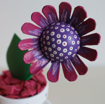 Flower craft for Mother's Day
