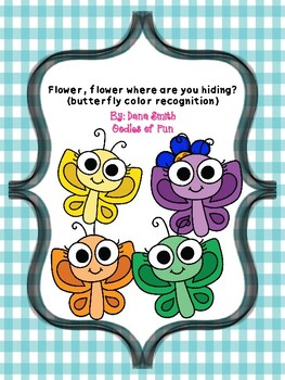 Flower, flower where are you hiding? (butterfly color recognition game)