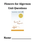 Flowers for Algernon Unit Questions