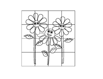 Flower girls double digit addition puzzle