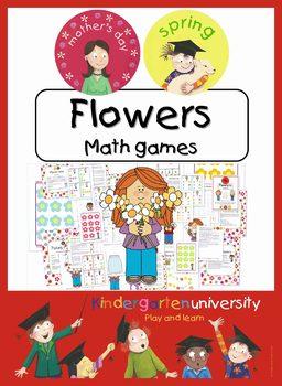 Flower math games