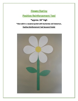 Flower/Spring Positive Reinforcement Tool