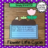 Flower Life Cycle Writing Cut and Paste Craftivity