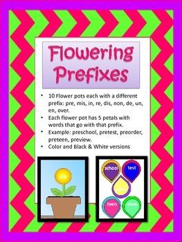 Flowering Prefixes