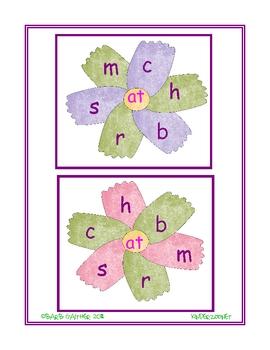 Flowering Word Families