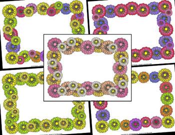 Flowering Zinnia Borders – Commercial