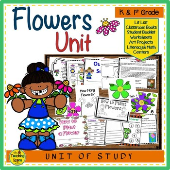Flowers: Activities & Centers