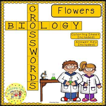 Flowers Crossword Puzzle