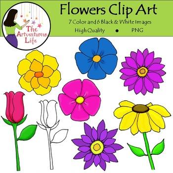 Flowers Clip Art FREE