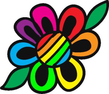 Flowers Clipart- Doodle Flowers Set 1