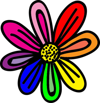 Flowers Clipart- Doodle Flowers Set 2