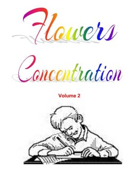 Flowers Concentration  Volume 2