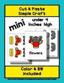 Flowers - Cut & Paste Craft - Mini Craftivity for Pre-K &