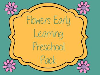 Flowers Early Learning Preschool Packet