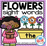 Flowers Editable Sight Word Activity