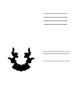 Flowers For Algernon Rorschach Test