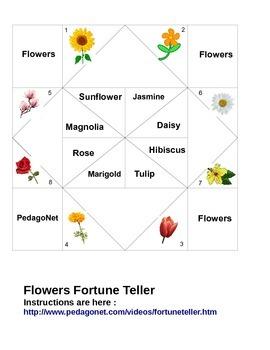 Flowers Fortune Teller