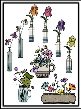 Flowers Galore Clipart