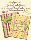 Flowers Grade Book & Lesson Plan Book Covers Set