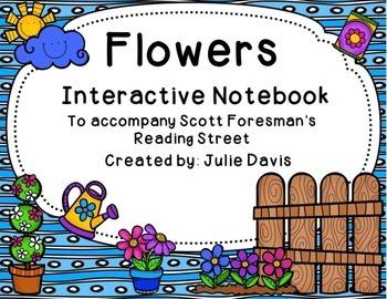 Flowers Interactive Notebook Journal