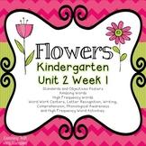 Flowers Kindergarten Reading Street Unit 2 Week 1