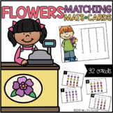 Flowers Matching Mats and Activity Cards (Patterns, Colors