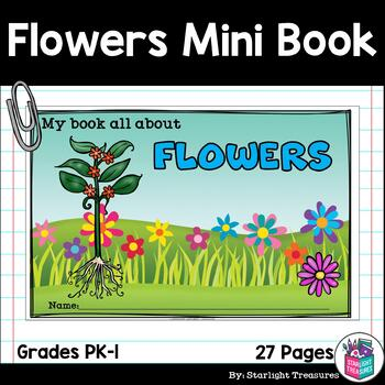 Flowers Mini Book for Early Readers