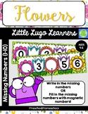 Flowers Missing Numbers 1-10