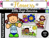 Flowers Numbered Puzzles 1-10