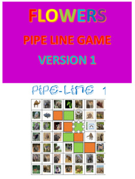 Flowers Pipe Line Game -- Version 1