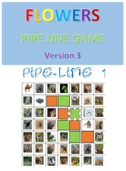 Flowers Pipe Line Game -- Version 3