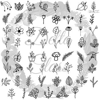 Flowers & Plants Clip Art